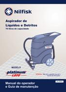 Manual de serviço e de peças LD70