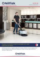 Folheto lavadora de pisos compacta SC351