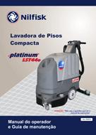 Manual de serviço e peças da lavadora LST44