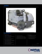 Manual de serviços da lavadora de pisos SC 8000 GLP