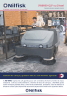 Folheto da varredeira industrial SW8000