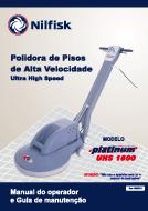 Manual de serviço e de peças UHS1600