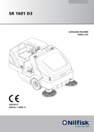 Manual de Peças da Varredeira Proterra 1601