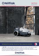 Folheto da varredeira de pisos manual SW750