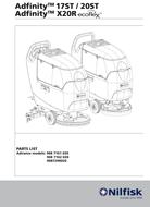 Manual de serviço Adfinity 17ST / 20ST, Adfinity X20R