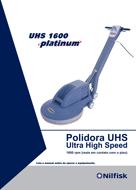 Catalogo da Polidora de pisos UHS1600