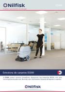 Apresentação da extratora de carpetes e tapetes ES300-E